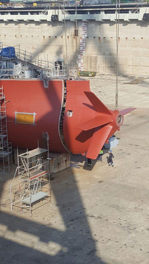 Bloque 110 de la construcción 540 Suezmax NAVANTIA Puerto Real (3)